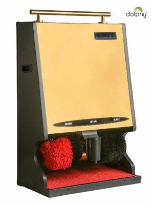 Dolphy Automatic Shoe Polish Machine - Gold