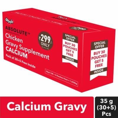 Drools Absolute Calcium Gravy Supplement