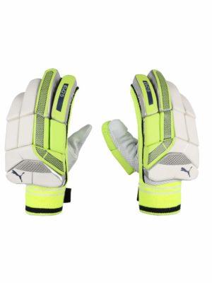 Puma Green Cricket Batting Gloves