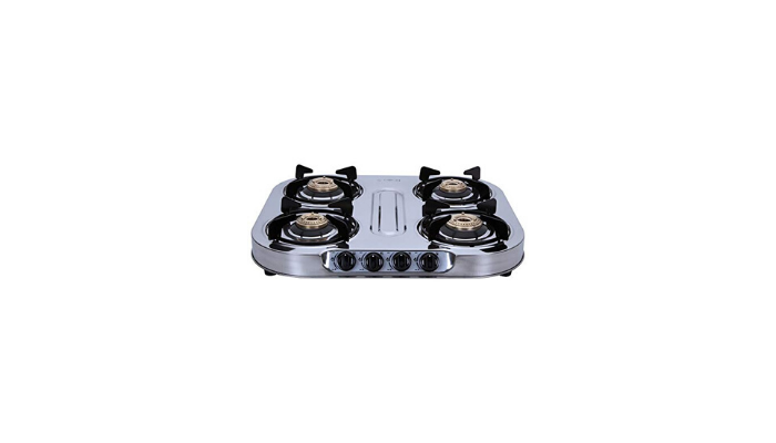 Elica INOX 604 SS 4 Burner Gas Stove Review