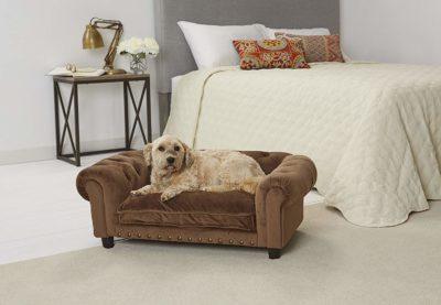 Enchanted Home Pet Ultra Plush Melbourne Tufted Sofa
