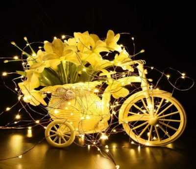 Enjoy Perfect Warm Glow and Amazing Decorations with LED Fairy Lights
