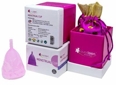 Everteen 12 hours Leak-Proof Protection Menstrual Cup