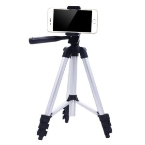 Eyexplo Phone Camera Tripod for iPhone 42 Inch Extendable Aluminum Tripod Stand