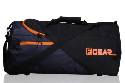 F Gear EXplory Polyester 55 Ltrs Orange Travel Duffle