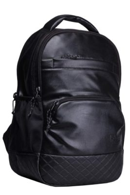 F Gear Luxur Black 25 liters Backpack