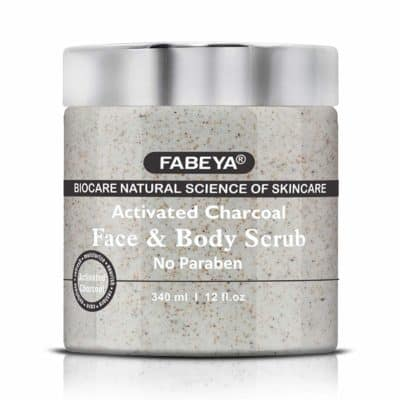 FABEYA Biocare Charcoal Face and Body Scrub