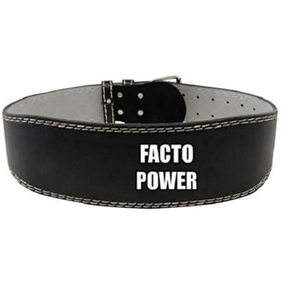 Facto Power Leather Gym Belt