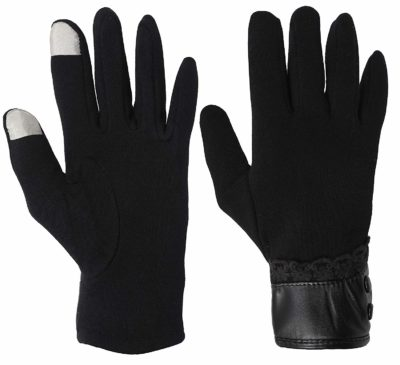 FabSeasons Woolen Winter gloves