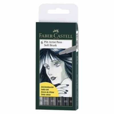 Faber castell Pitt artist soft brush color pen set