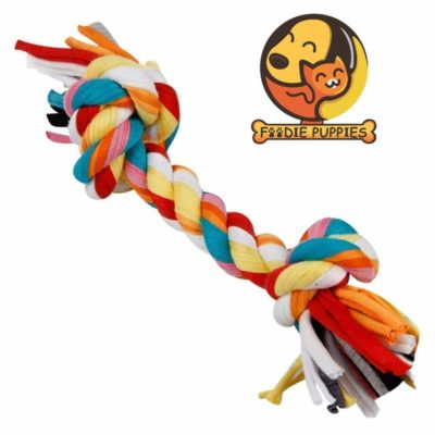 Foodie Puppies Cotton Durable Dog Chew Rope Toy