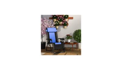 Forzza Krabi Folding Outdoor Recliner Chair Review