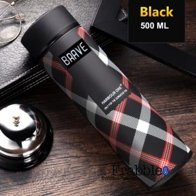 Frabble8 Double Wall Vacuum Insulated Water Bottle