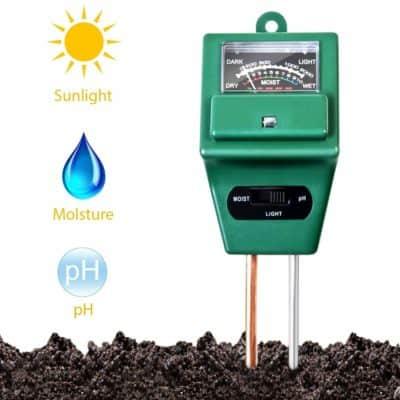 FreshDcart Solar Soil Plant Care New 3 In 1 Soil Sensor