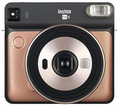 Fujifilm Instax Square SQ6 Instant Camera (Blush Gold)