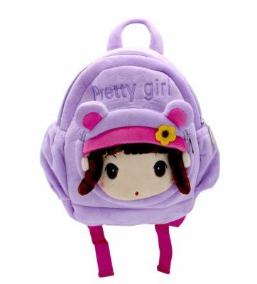 FunBlast Cute Pretty Girl Soft Bagpack
