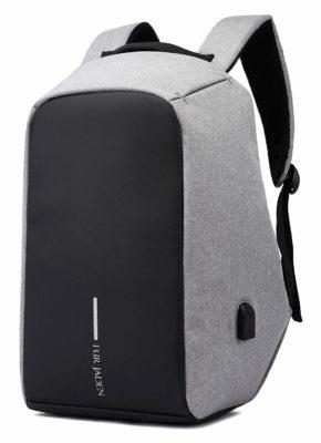 Fur Jaden Grey Backpack