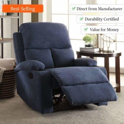 Furny Elisse fabric recliner