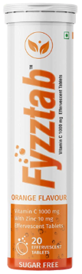 Fyzztab Vitamin C and Zinc 1