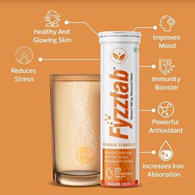 Fyzztab Vitamin C and Zinc 4