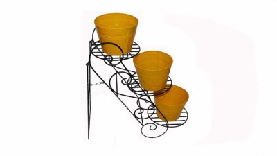 GIG Handicrafts 3-Tier Decorative Potted Plants