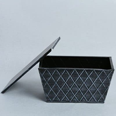 GRASSPER Metal Decorative Window Flower Pot