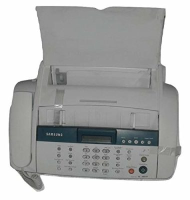 Generic Black and White Fax Machine