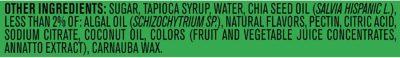 Gerber Lil Brainies Kids Gummy Multivitamin Ingredient
