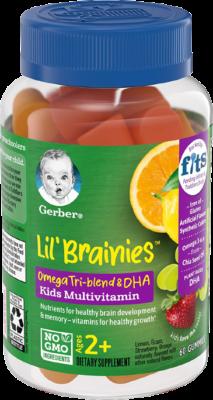Gerber Lil Brainies Kids Gummy Multivitamin