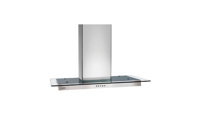 Glen 60cm 1000 m3 h Straight Glass Wall Mounted Chimney 6062 SS Review
