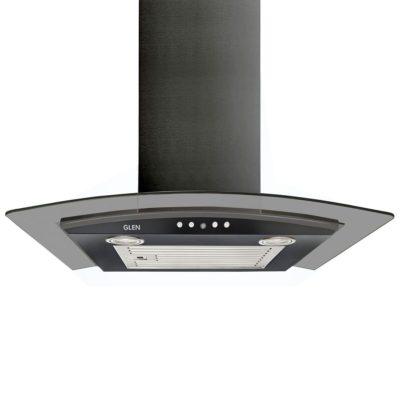 Glen 60cm, 1000 m3/h Curved Glass Kitchen Chimney