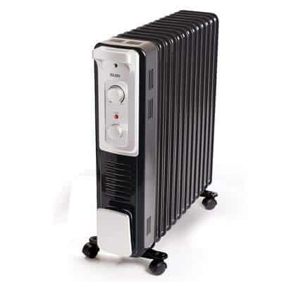 Glen 7015 13 Fins Electric Oil Filled Radiator Room Heater