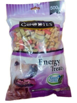 Goodies Energy Treats Bone Shaped for Dogs