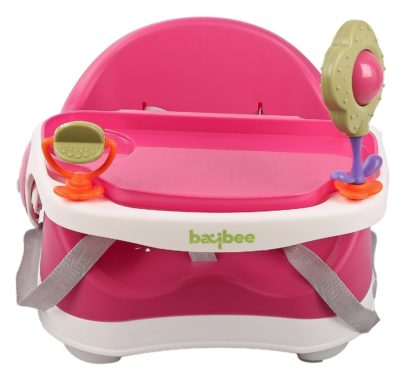 Goodluck Baybee- Comfort Folding Baby Booster Seat Chair for Babies (6 month to 3 years) Pink