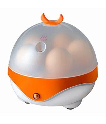 Goodway Electric Egg Boiler (5 Egg, White orange)