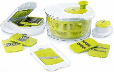 Gourmia-GSA9240-Jumbo-Salad-Spinner