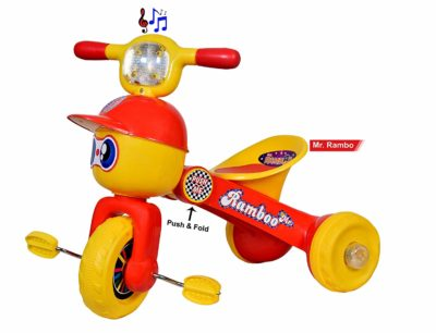 Goyal Mr. Rambo Baby Tricycle