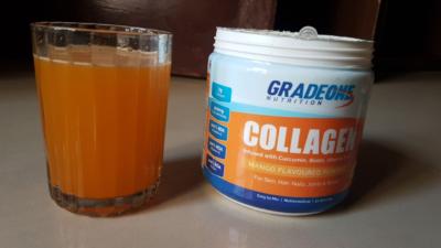 Gradeone Nutrition Hydrolysed Collagen Vitamins