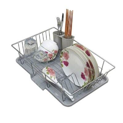 HOME CUBE® Stainless Steel Dish Rack