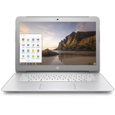 HP Chromebook Silver