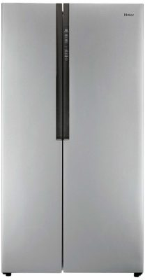 Haier HRF 618 SS Frost-free Side-by-Side Refrigerator (565 Ltrs, Grey)