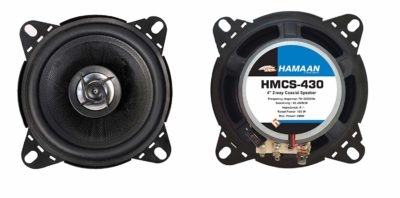 "Hamaan HMCS-430 – 4"" 2-Way 240W Coaxial Car Speakers"