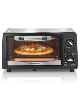 Hamilton Beach 31134 4 Slice Capacity Toaster Oven, Black