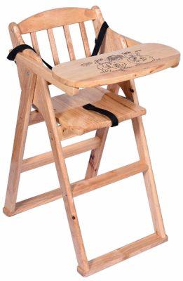Haneez Foldable Baby Feeding High Chair
