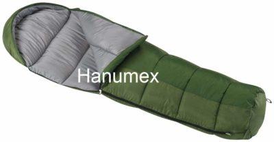 Hanumex All Seasons Waterproof Adult Sleeping Bag - Color: Army Green