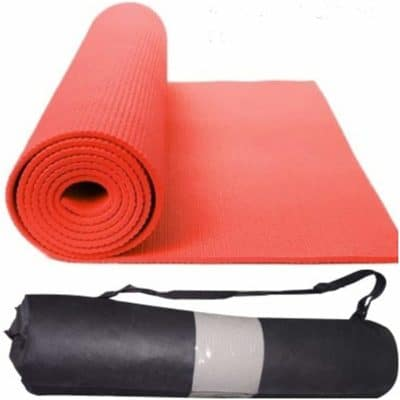 Happytech™ New Design Fitness Non Slip Yoga Mat 6mm Extra Thick and Comfort –