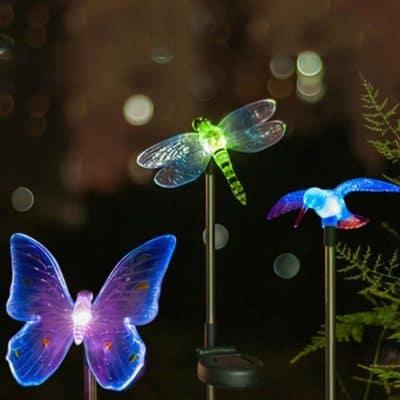 Hardoll LED Solar Garden Stake Light