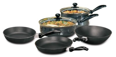 Hawkins Futura Non-Stick Cookware, 7-Pieces