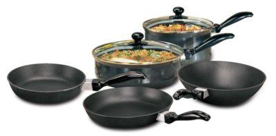 Hawkins Futura Non-Stick Cookware, 7-Pieces
