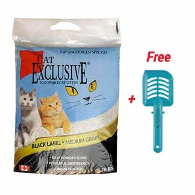 Heads Up For Tails Intersand Scoopable Cat Litter with Huft Scooper